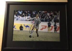 Michel Platini Juventus and France Legend Signed 8x12 Photo