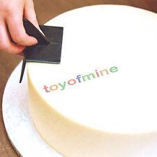 Spatola Liscia Smoother Pasta Zucchero Cake Design Decorazioni Torte 90° Angolo