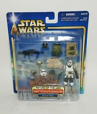 2002 Star Wars ROTJ Endor Victory Accessory Set with Scout Trooper, Accessories