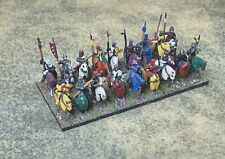 Fully Painted 15mm Feudal English Knights (13th C.); Essex