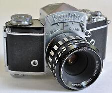 Exakta Varex IIa Camera w M Travenar 2.8 50 R A. Schacht Ulm Lens