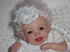 Reborn doll Marita Winters' SHASTA micro preemie FAIRY baby girl JunebirdNursery