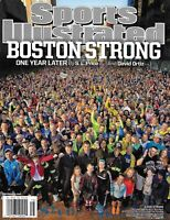 Sports Illustrated Magazine Boston Strong Marathon Joakim Noah Bubba Watson 2014