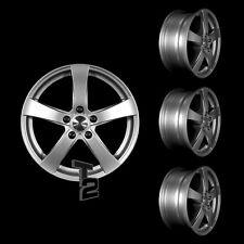 4x 16 Zoll Alufelgen für VW Fox / Dezent RE 6x16 ET30 (B-3401057) Alurad Satz