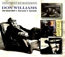 SEALED NEW CD Don Williams - One Good Well + True Love + Currents