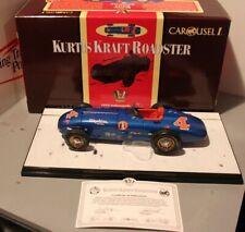 1955 Bill Vukovich Indianapolis 500 #4 Kurtis Kraft Roadster 1/18 Carousel 1