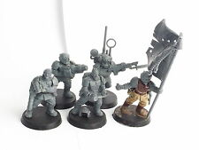 IMPERIAL GUARD CADIAN COMMAND SQUAD. ASSEMBLED
