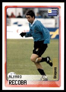Panini Road to the World Cup 2002 - Alvaro Recoba Uruguay No. 133