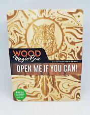 Smokezilla Wood Magic Box Wolf Design Smoking Accessories Stash Box