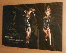 Celine Dion Let's Talk about Love Double Sided 1997 Promo Poster 36x23 Rare