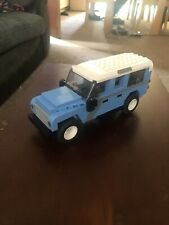 Land Rover Defender 110 custom built lego