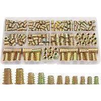 Threaded Inserts Nuts, Wood Insert Assortment Tool Kit, M4/M5/M6/M8 Furniture nj