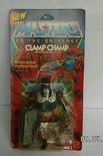 Vintage he man motu masters of the universe figure clamp champ MATTEL scellé