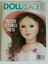 Doll Reader Magazine April 1994 Those Aristocratic Parians & Rare Pretty Bettsie