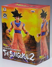 Banpresto Dragonball Z MSP Master Stars Piece the Son Goku Gokou PVC Figure