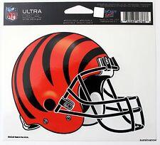 Cincinatti Bengals Window Helmet Sticker NFL Licensed 4.5 Window Decal Football