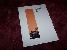 Catalogue / Brochure BMW Serie 3 / 3 Series berlines 1995 //