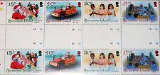 ASCENSION 2010 1122-25 gutter Weihnachten Christmas Religion Essen Scenes MNH