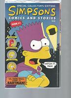 1993 SIMPSONS SPECIAL COLLECTORS EDITION  #1 W/ POSTER SEALED