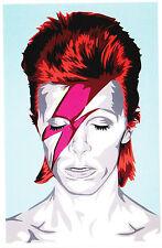 Mr Brainwash David Bowie Ziggy Stardust music promo banksy fairey invader punk