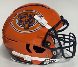 Chicago Bears Full Size Custom Authentic Schutt F7 Football Helmet New!!!