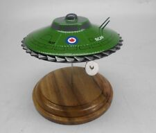 Avro Royal Canadian Air Force Flying Saucer Dried Wood Model Spaceship Large New