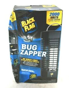 Black Flag Bug Mosquito Zapper 2000 Volts 1/2 Acre Coverage BZ-20 Electric New
