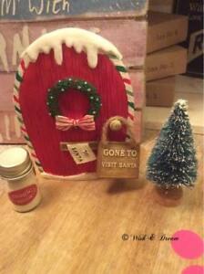 Elf door with accessories Boxed Christmas Decoration Xmas Decoration