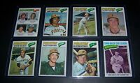 1977 TOPPS PITTSBURGH PIRATES COMPLETE TEAM SET 25 CARDS EXMT/NM STARGELL PARKER
