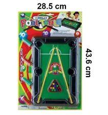 Mini Snooker Billiard Pool Table Game Desktop Stocking Filler 20x31 Cm