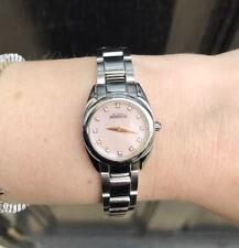 Michel Herbelin Ladies Bracelet Watch. Model 17128 Pink Face Stainless Steel
