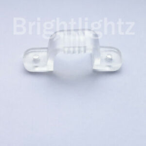 Clear Fixing Clips/Mounting Brackets for LED 3528 Mains Voltage Strip Lights