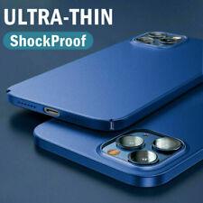 For iPhone 12 Pro Max 12 mini 11 Pro XS Max X 8 Matte Ultra-thin Hard Case Cover