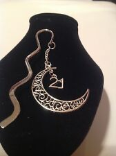 21st birthday.. filligree book mark silver plated