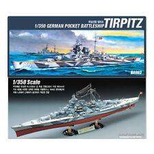 ACADEMY #14111 1/350 Plastic Model Kit German Battleship TIRPITZ