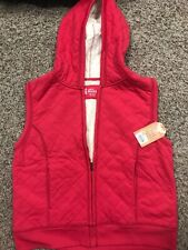 Nwt Mudd Girl's Size 18 Plus Quilted Sherpa Vest