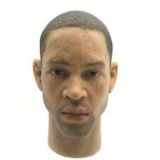 Custom 1/6 Scale Will Smith Head Sculpt for 12 Inch Figures Head