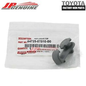 GENUINE TOYOTA SIENNA VENZA OEM NEW LUGGAGE COMPARTMENT HOOK GRAY 64725-0T010-B0