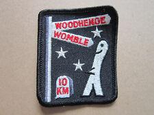 Woodhenge Womble 10 Km Walking Hiking Cloth Patch Badge (L3K)