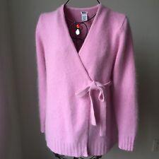 Mimi Maternity  Wrap Angora Blend Cardigan Sweater sz.M made in Australia