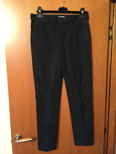(1) Chanel CC Women's Classy Dress Black Cotton Pants - Size 40 - France