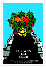 """Cuban decor Graphic Design movie Poster 4 film""""Caridad del COBRE""""Cuba Saint"""