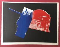 Rudolf Bonvie, 22111, Farblithographie, 1988, handsigniert und datiert
