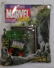 Marvel Comics Classic Superhero Figurine Special The Incredible Hulk + Magazine