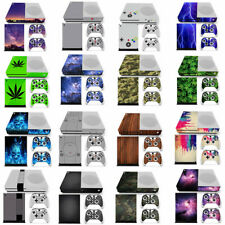 Full set -- Xbox one S Slim Console Controllers Vinyl Sticker Decal Cover