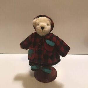 """Muffy Vanderbear 8"""" Tall - All Spruced Up Adirondack Collection Jointed Bear Tag"""
