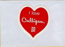 ADESIVO STICKER VINTAGE i love culligan