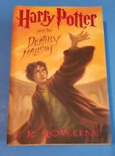 JK Rowling Harry Potter And The Deathly Hallows 2007 1st US Edition Hardcover DJ
