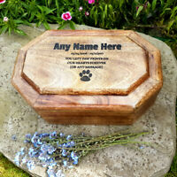 Pet Box Ashes Box Pet Urn Mango Ashes Dog Urn Cat Urn Cremation Box Memorial