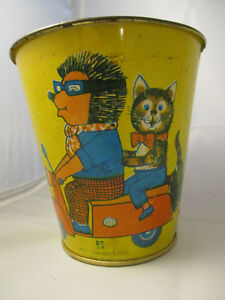 Vintage Sand Pail ~ Made in GDR German Democratic Republic